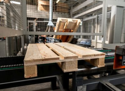 Pallet production with the support of EU